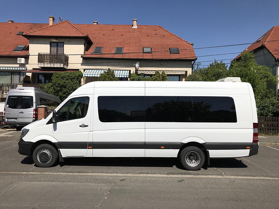 Mercedes Sprinter 21 személyes